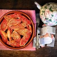 Málnás óriáskagyló karamellás mandulával