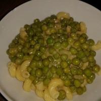 Zöldborsós tészta