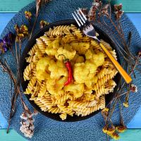 Kókuszos karfiol curry – videó blog