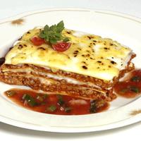 Húsos paradicsomos lasagne