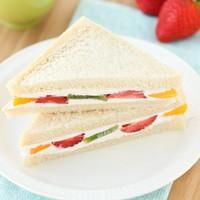 Édes szendvics reggelire
