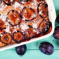 Szilvás-joghurtos sütemény