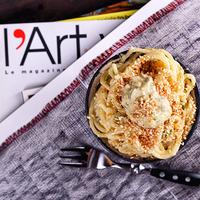 Szezámmagos spagetti