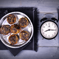 Mákos tésztamuffin