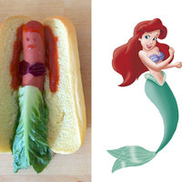 Disney hot-dog