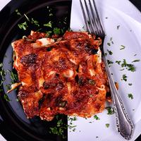 Fetás, húsos lasagne