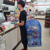 Zöld bevásárlókosarak trendje Thaiföldről
