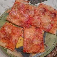 Ezt jól kisütöttük - pizza