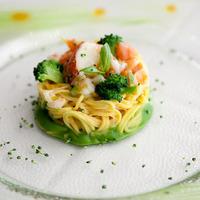 Spagetti homárral és brokkolival a Fasuto's étlapján