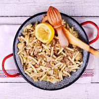 Tonhalas, articsókás tészta