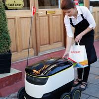 Ételkiszállító robotok