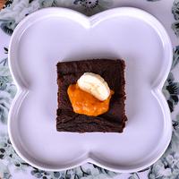 Csokis desszert édesburgonyával – lépésekben