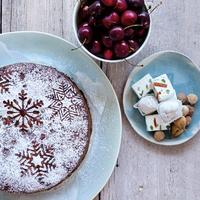 Csak 3 hozzávaló: varázslatos karácsonyi torta
