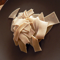 Nonstandard pappardelle házilag