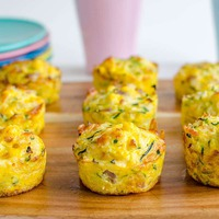 Cukkini piknik muffinok
