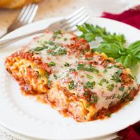 Csak 3 hozzávaló: lasagne tekercsek