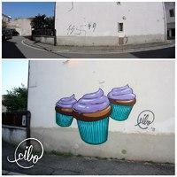Jótékony food graffitik