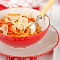 Szimpla paradicsomos spagetti