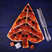 Karácsonyra pizzát