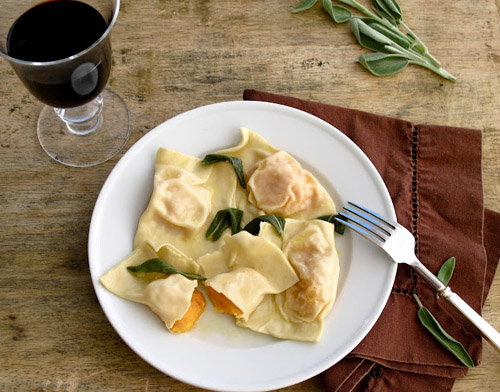 butternut squash ravioli with sage browned butter.jpg