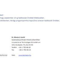 Eldőlt! Mátészalkára érkezik Dr. Mosóczi László.