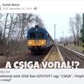 Videó készült a Mátészalka-Debrecen vasútvonalról.
