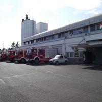 Korszerűsítik a tűzoltóság épületét.
