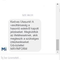 Növelte a vasútőri jelenlétet a MÁV a Mátészalka-Debrecen vasútvonal járatain.