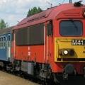 Kigyulladt a Mátészalkáról Debrecenbe tartó vonat  mozdonya Hodászon.