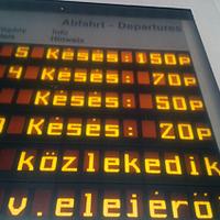 Közérdekű adatigénylés: mennyit késnek a vonatok a  Mátészalka-Debrecen viszonylatban?