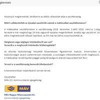 Válaszolt a MÁV, marad a csökkentett vasútőri létszám a mátészalkai vasútállomáson.