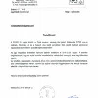 Közérdekű bejelentésünk nyomán megoldódik a szennyvíz akna problémája az Alkotmány és Kossuth utca közötti parkolóban!