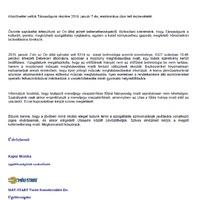 Íme a MÁV-Start válasza: fűtési hiányosság miatt nem jár vissza a menetjegy ára.