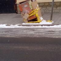 Életveszély a városközpontban