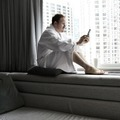 Köntös, macska, programozás: home office Linus Torvalds-módra