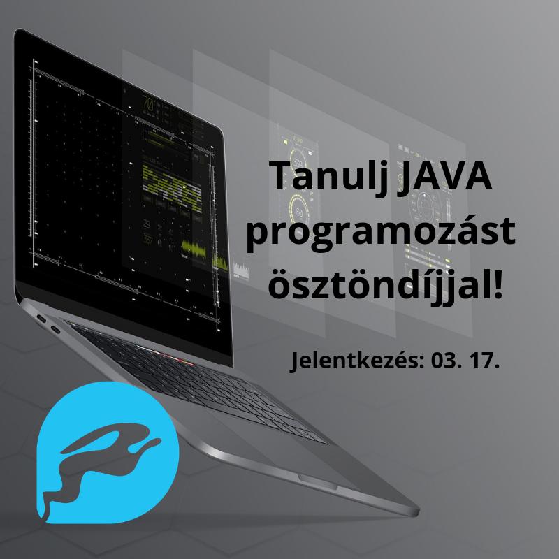"""Intenzív JAVA fejlesztői bootcamp: """"ez tényleg a kódolásról szól!"""""""