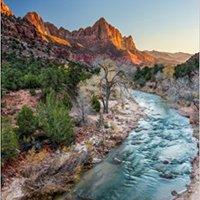 ##FB2## Watchman At Sunset - Zion National Park, Utah Journal: 150 Page Lined Notebook/diary. upset modelo Howard Viviendo wardrobe mashups