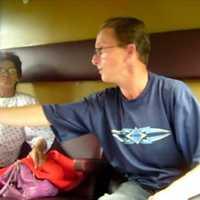 Szintiboy és Ilonka a vonaton