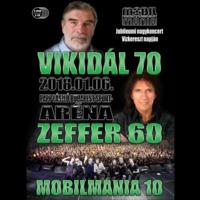 MOBILMÁNIA: Vikidál 70 / Zeffer 60 / Mobilmánia 10 (Hammer Records, 2019)