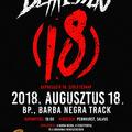 DEPRESSZIÓ: különleges szülinapi koncert augusztus 18-án a BARBA NEGRA TRACK-ben!