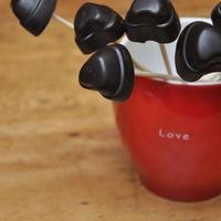 Csoki szívek -- Keverem kavarom és egy gőzölgő forró csoki lesz belőle