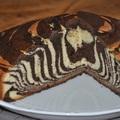 Játékos desszert -- Zebra torta