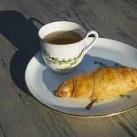 Esti munka, reggeli gyönyör - Kiflik chilivel, sajttal és olíva bogyóval töltve.