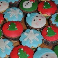 Karácsonyi muffinok
