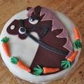 Lovas torta- Boldog szülinapot KIKÓ!