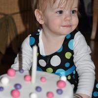 LUCUS 1 éves - lányos szülinap