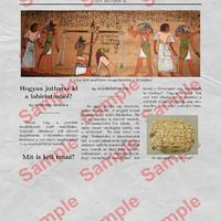 Ókori keleti szabadulószoba és összefoglalás