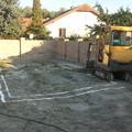 Medence építés a munkagödörrel kezdődik