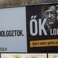 Perelhet Orbán a Jobbik tolvajozós plakátjai miatt