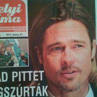 Helyi Téma: Brad Pittet megszúrták